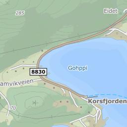 korsfjorden kart Brattli Hyttefelt, 9536 Korsfjorden på FINN kart korsfjorden kart